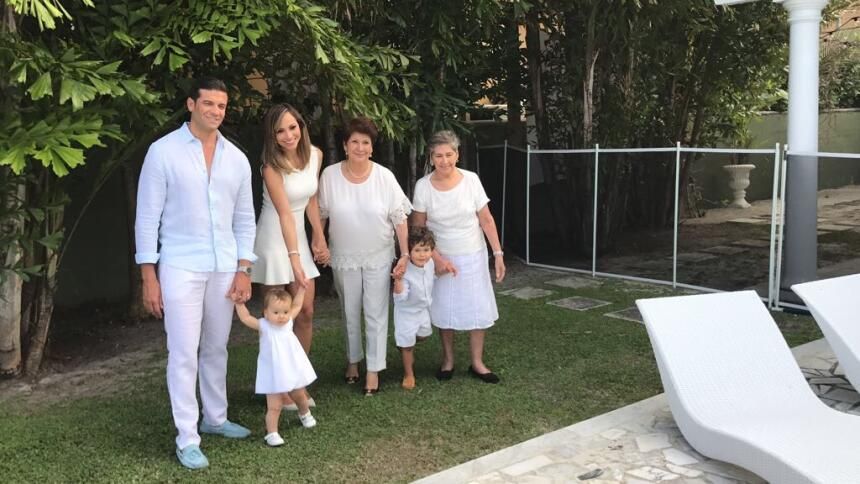 Satcha Pretto familia #DAElReality