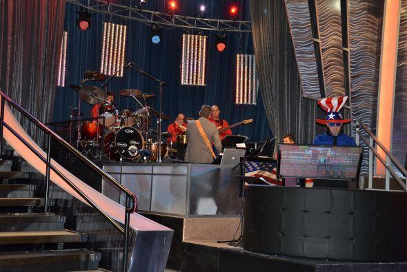 Si los músicos y el escenario están listos, ¡que comience el show!