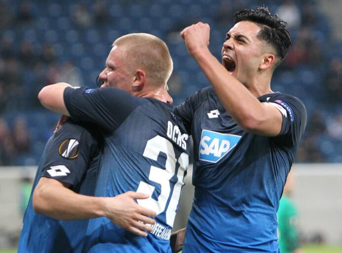 Hoffenheim 3-1 Ístanbul: el equipo alemán por fin ganó en el torneo y hu...
