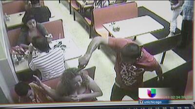 Captado en Cámara: Sangriento tiroteo en taquería de Chicago