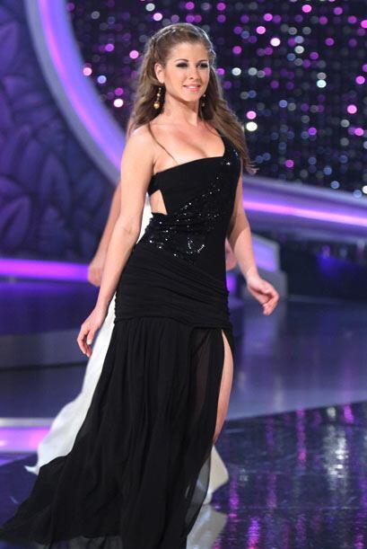 Lissandra De La Cruz también participó en el 2010.