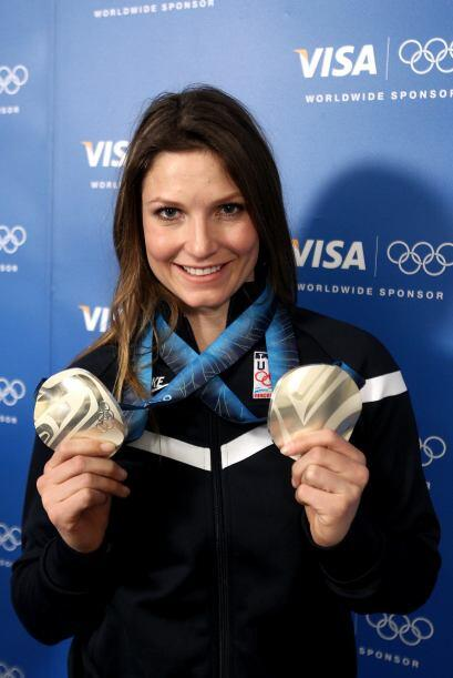 ¡Julia Mancuso sí que sabe ponerle sabor al esquí al...