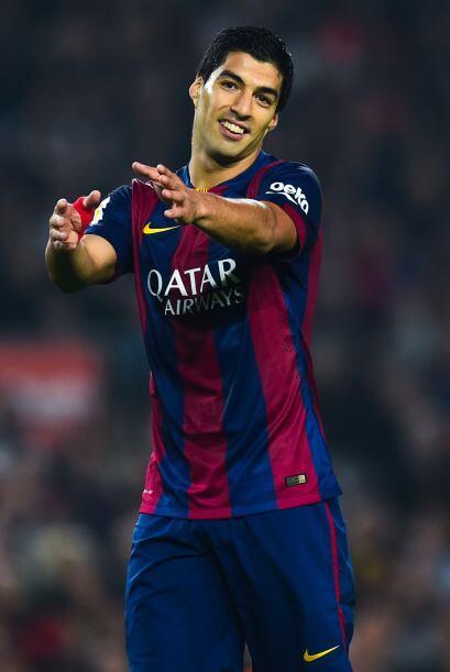 El uruguayo Luis Suárez, con un costo de 80 millones, sí ha rendido pues...