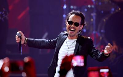 July 6, 2017 - Marc Anthony performs on stage during Univision's 'Premio...