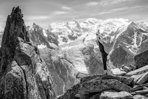 Esta imagen en blanco y negro es de las más bellas que Alex Buisse captó.