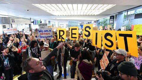 Líderes de la industria tech se sumaron a la protesta contra el v...