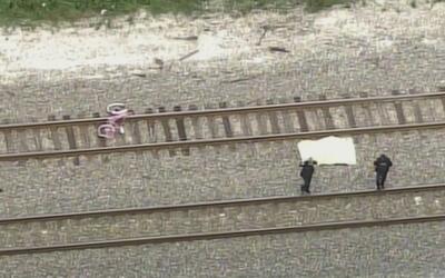 Una persona murió tras ser arrollada por un tren en Cypress Creek