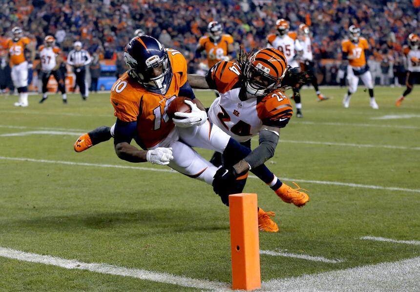 Los Denver Broncos vencieron 20-17 en tiempo extra a los Cincinnati Beng...