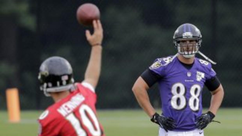 Dennis Pitta (AP-NFL).