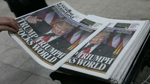 Líderes de todo el mundo felicitan a Trump por su victoria