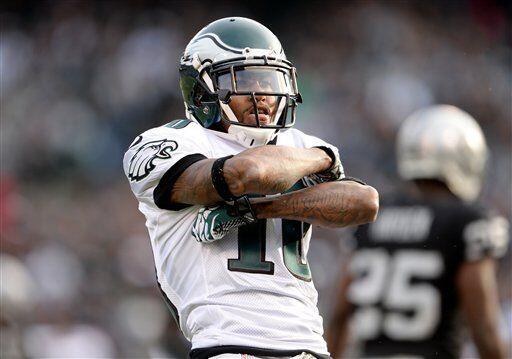 DeSean Jackson, receptor de los Philadelphia Eagles (AP-NFL)
