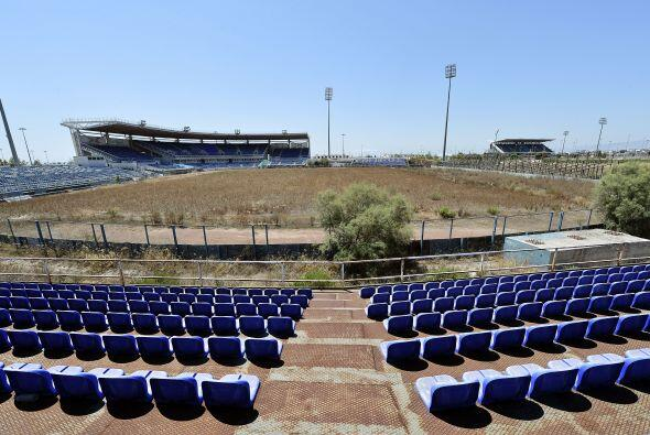 El estadio donde se disputó el beisbol también se encuentra en pleno aba...