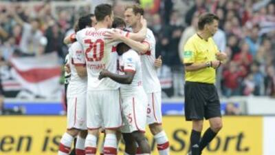 El Stuttgart logró los puntos necesarios para confirmar su continuidad e...