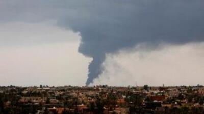 La situación en Libia. Foto Reuters.