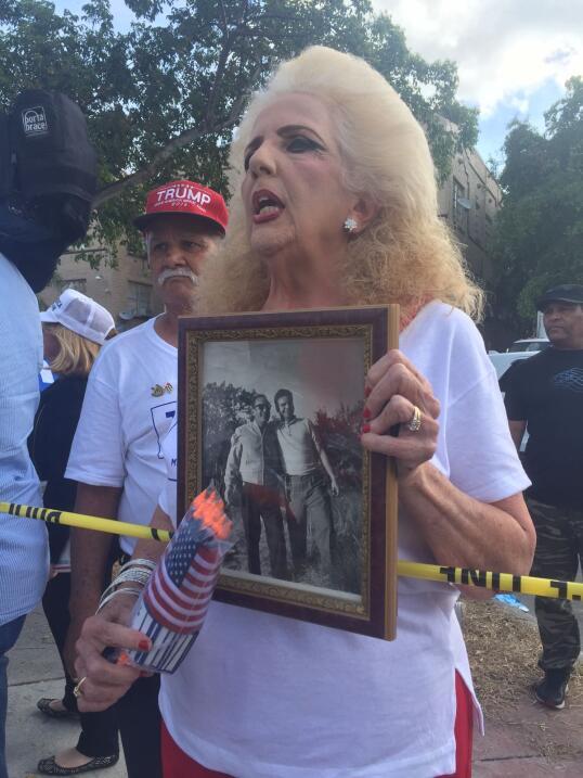 Clara Roteta no se pierde un acto de Trump y aunque esta vez lamentó que...