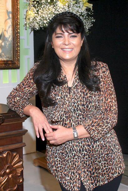 Victoria Ruffo se mostró feliz por interpretar un personaje distinto.