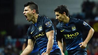 El argentino marcó uno de los goles con los que los Citizens derrotaron...