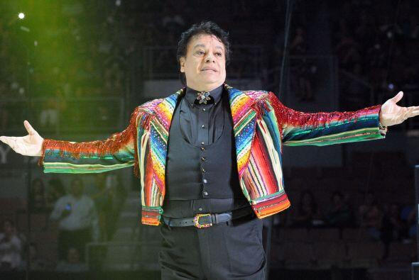 El cantante mexicano Juan Gabriel se presentó en el Mandalay Bay Events...