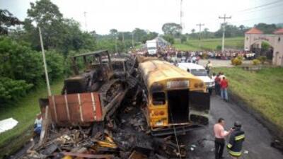 Más de 60 muertes al mes en Honduras por accidentes de tránsito.