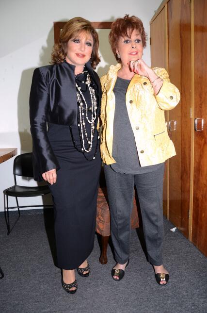 Angélica María y Talina Fernández