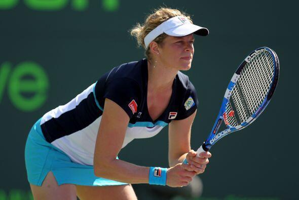 Ganadora del 1er Grand Slam del año, el Abierto de Australia, Cli...