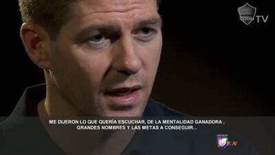 Steven Gerrard es el nuevo jugador franquicia de la MLS