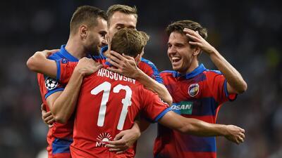Con estos goles el Viktoria Plzen le ganó 2-1 a la Roma