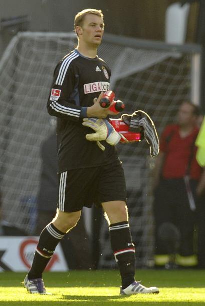 Neuer, portero del Bayern de Múnich, llegó a Mil minutos sin recibir gol...
