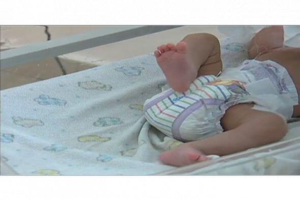 La pequeña tiene solo un mes de nacida.