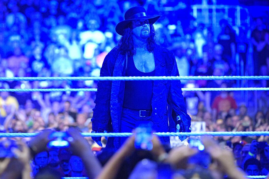 Ronda Rousey y Undertaker: íconos del Wrestlemania de WWE en 2018 ap-267...