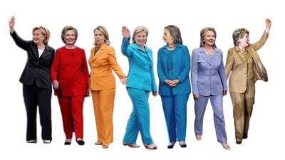 La colección que convierte a Hillary Clinton en una mujer de muchos pantalones