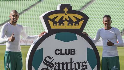 En fotos: La presentación de los refuerzos de Santos Laguna