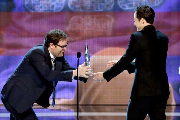 Los ganadores fueron los chicos de 'The Big Bang Theory'.