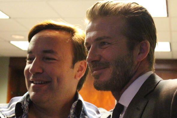 Beckham con Javier Romero, personalidad, Amor 107.5 FM
