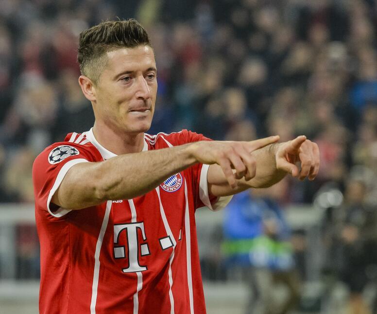 6. Robert Lewandowski (Bayern Múnich) - Puntaje:  91