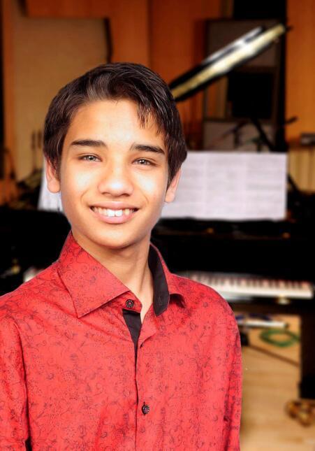 El niño músico genio