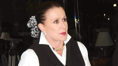 Laura Zapata está de luto por la muerte de un familiar muy cercano