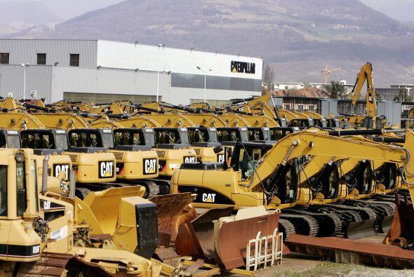 CATERPILLAR- El constructor de maquinaria para construcción de igual man...