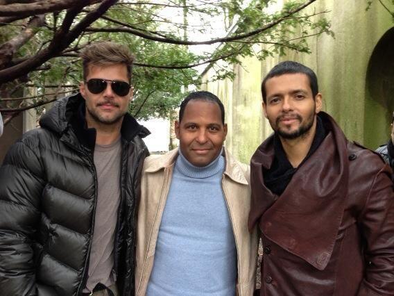 Hace una semanas entrevistó en exclusiva a Ricky Martin y a Draco Rosa d...