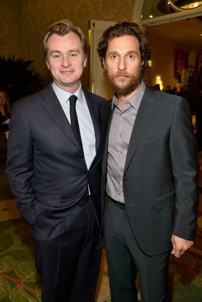Christopher Nolan y Matthew McCounaughey