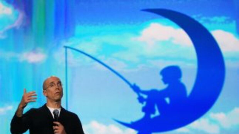 Jeffrey Katzenberg, consejero delegado de DreamWorks, fue el encargado d...