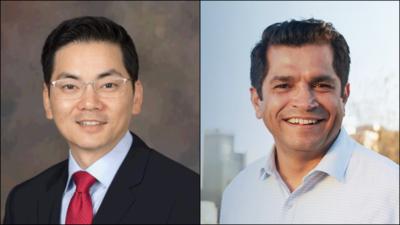 Robert Lee Ahn y Jimmy Gómez, candidatos al Congreso por el Distrito 34.