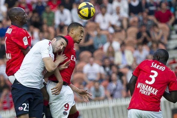 Lille se enfrentó al histórico París Saint Germain...