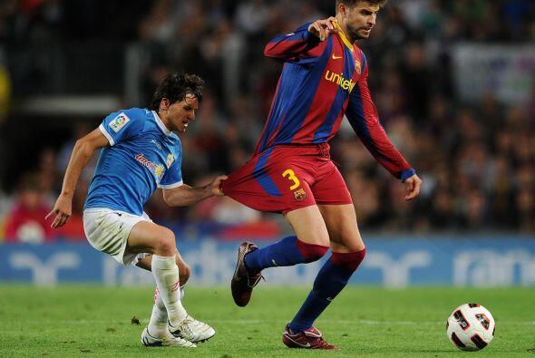 El argentino Piatti, del Almería, le pidió la camiseta a P...