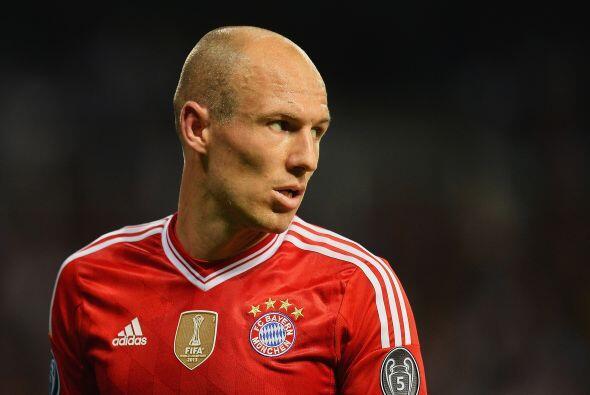 Arjen Robben es  finalista a mejor jugador de la UEFA debido al altísimo...