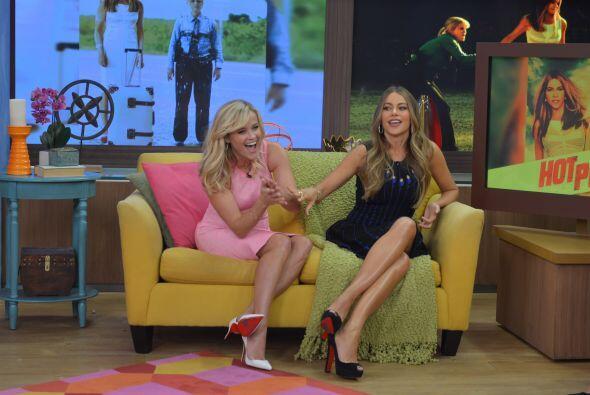 Sofía habló de lo bien que la pasaron durante la filmación, Reese dijo q...