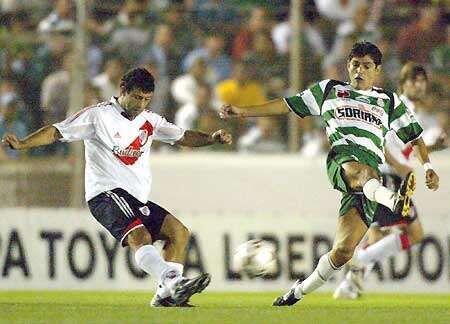 En la ida que se jugó en México, River ganó por 1-0, y en la vuelta Sant...