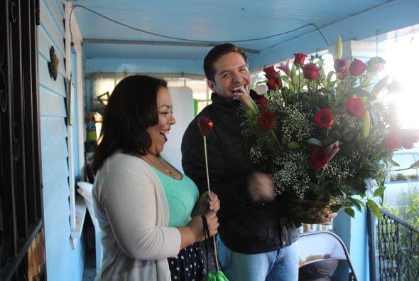 ¡El Dasa sorprendió a dos afortunadas este día del Amor y de la Amistad!