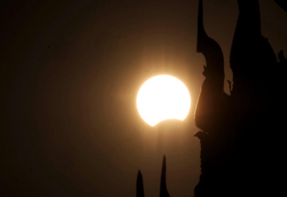 Eclipse total de sol 8 marzo