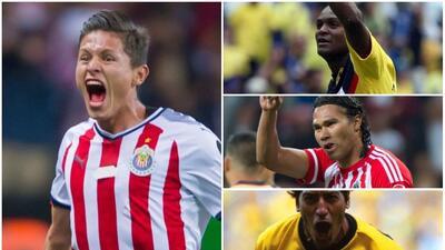 Godínez y otros jugadores que han marcado goles en su primer Clásico Nacional